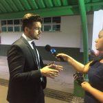 palestrante janderson santos entrevista redetv evento sebrae no para