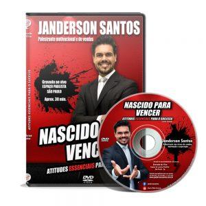 DVD nascidos para vencer de Janderson santos 1