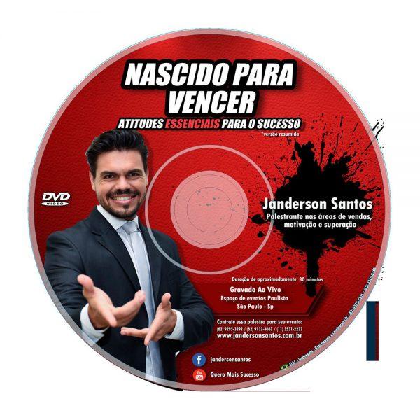 DVD nascidos para vencer de Janderson santos
