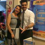 Laçamento livro sucesso é mandioca em Belém palestrante magico