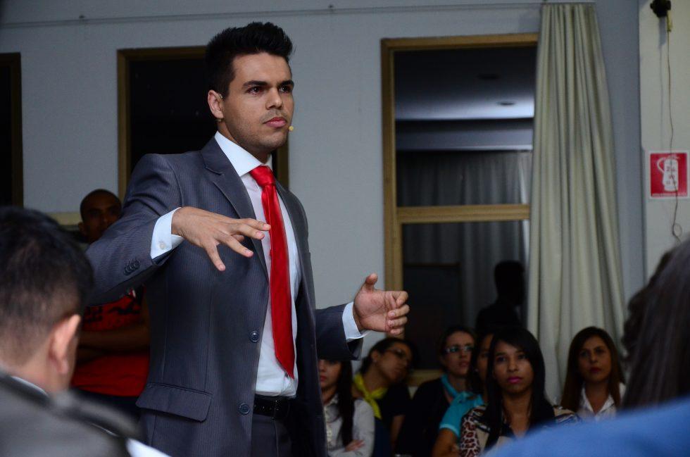 Janderson Santos, palestra vendas