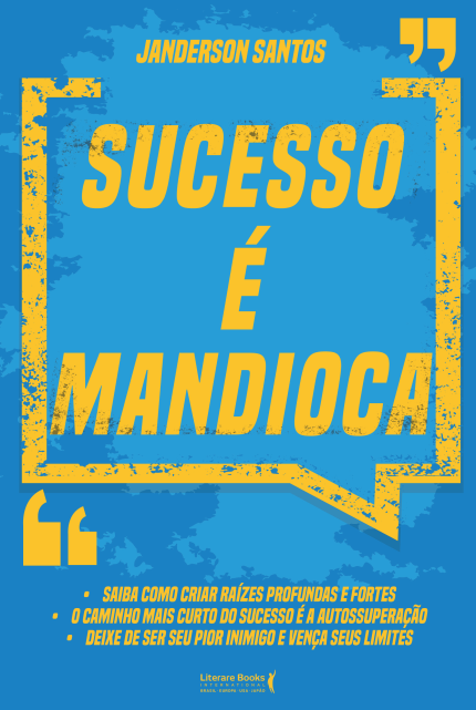 Livro sucesso é mandioca
