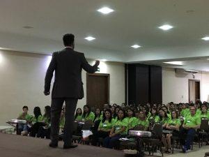 palestrante janderson santos em mato grosso de vendas e motivação unimed cuiaba